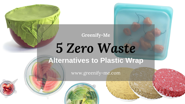 zero waste alternatives to plastic wrap