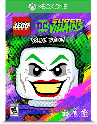 Lego Dc Super Villains Game Cover Xbox One Deluxe Edition