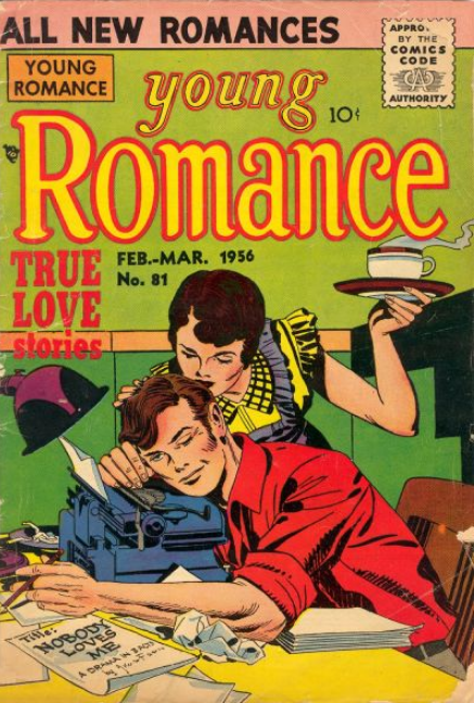 Kirby Young Romance comic