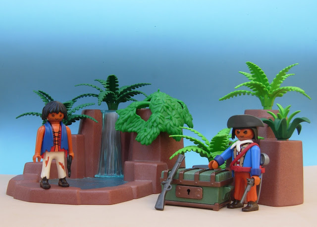 Playmobil Pirate diorama