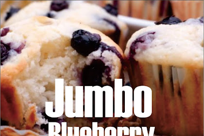 Jumbo Blueberry Cheesecake Muffins