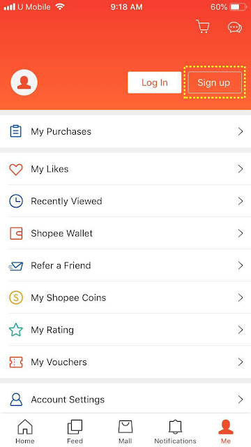 Signup as Shopee seller