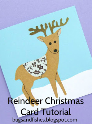 How To: Reindeer Christmas Card Tutorial