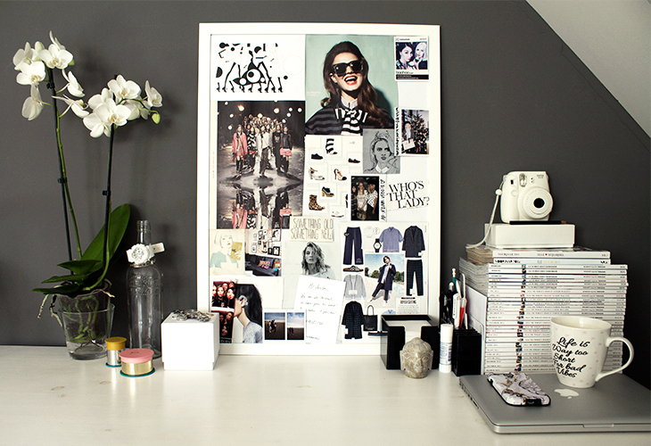 Fashion Attacks room inspiration roomtour Mapiful poster