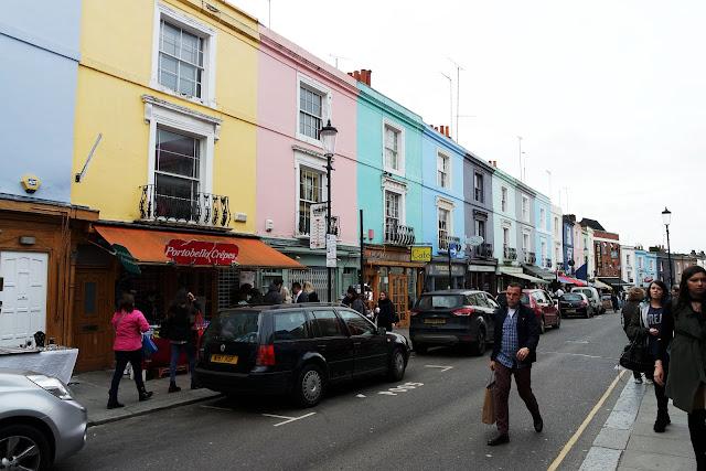 London, Portobello, market, londres, london, vlog, roadtrip, blog, street, pastel house