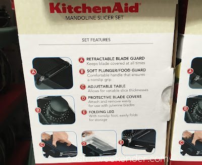 Costco 669963 - KitchenAid Mandoline Slicer Set - an essential tool in the kitchen
