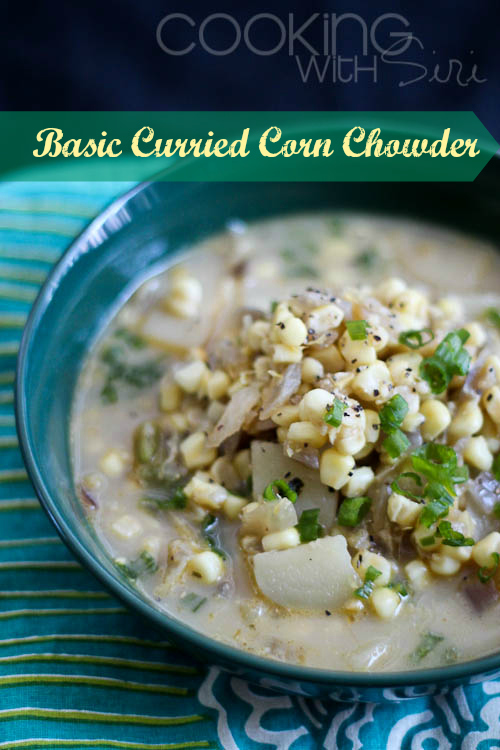 Basic Curried Corn Chowder Mark Bittman