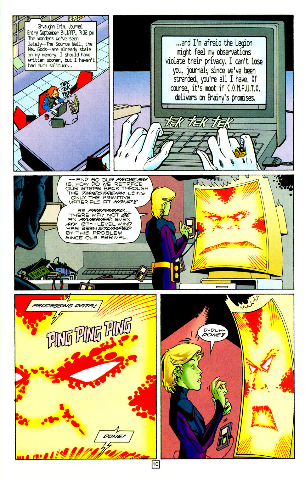 Legion of Super-Heroes (1989) 98 Page 10