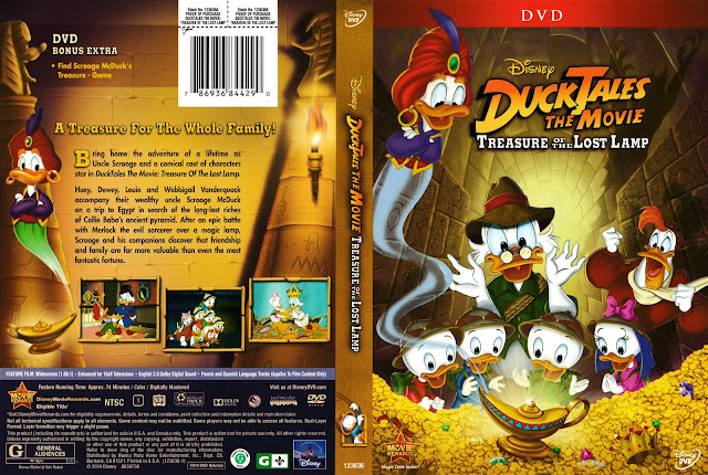 DuckTales the Movie: Treasure of the Lost Lamp DVD Cover
