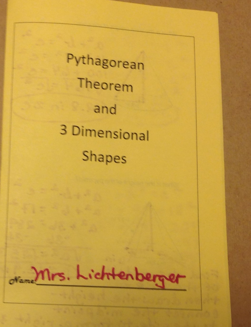 Equation Freak 8 G B 7 Pythagorean Theorem And 3