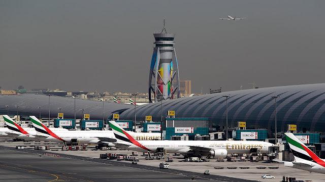 Lapangan Terbang Antarabangsa Dubai Ditutup Akibat Dron