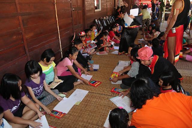 AEON Holds First Gawai Festival Celebration At Kampung Benuk, Kuching