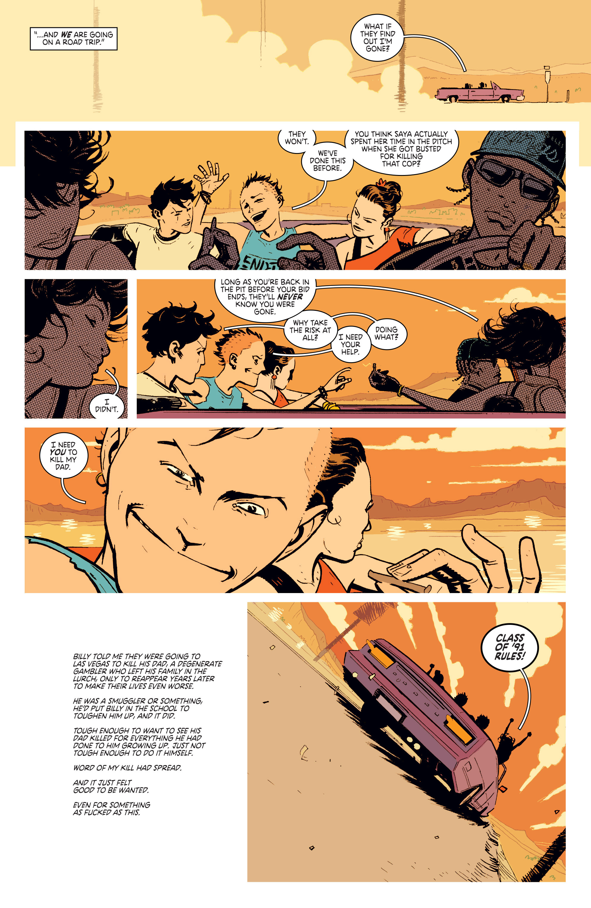 Read online Deadly Class comic -  Issue #4 - 7