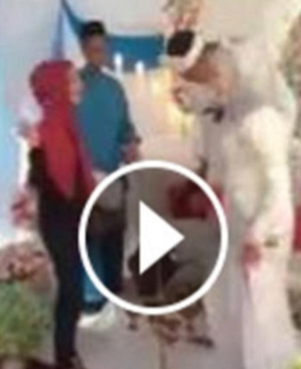 (VIDEO) Kejadian Yang Mengejutkan Berlaku Kepada Wanita Serang Suami Kahwin Jadi Perhatian Netizen...KESIAN!