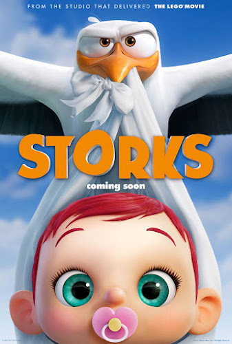 Storks (BRRip 1080p Dual Latino / Ingles) (2016)