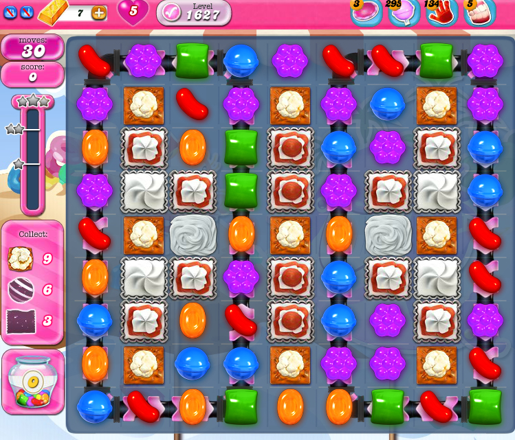 Candy Crush Saga 1627