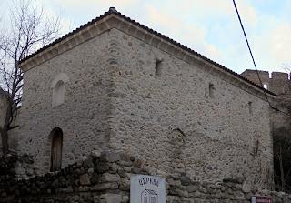 το παρεκκλήσι του αγίου Αντωνίου στο Μελένικο