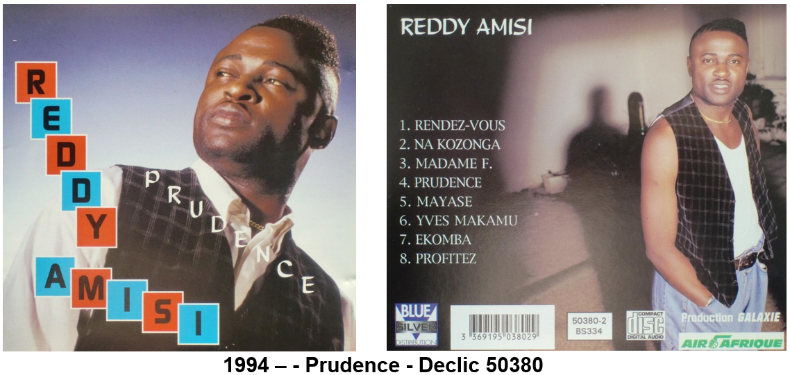 reddy amisi prudence