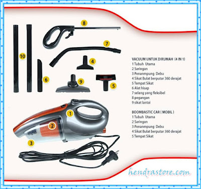 Jual Vacuum And Blow Cleaner Idealife IL-130S Murah