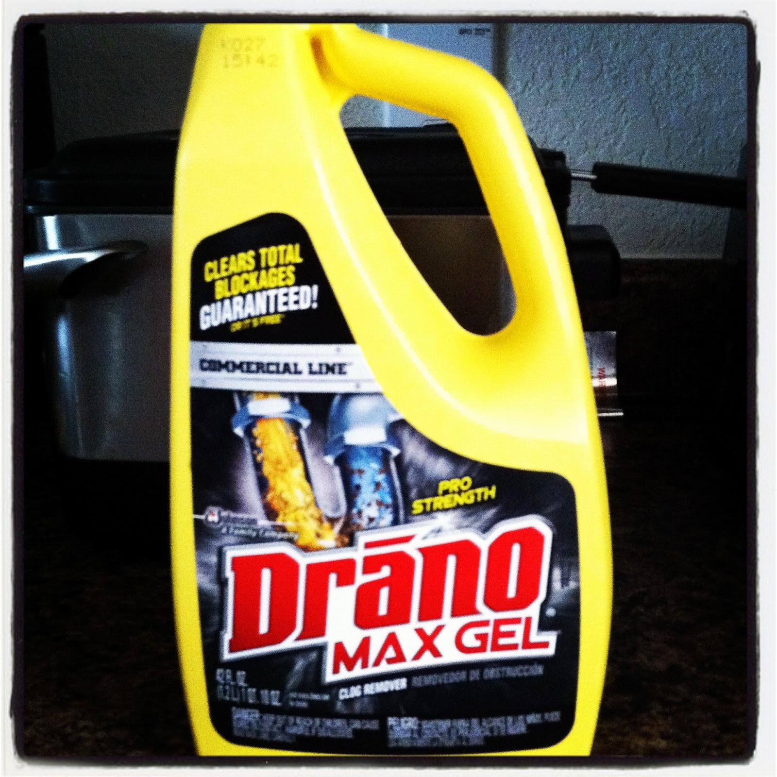Drano Kitchen Sink: Home & Garden: Drano Max Gel