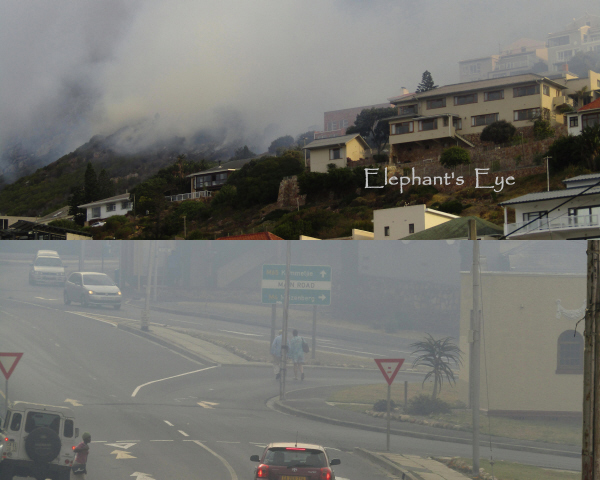 Glencairn to Fish Hoek fire
