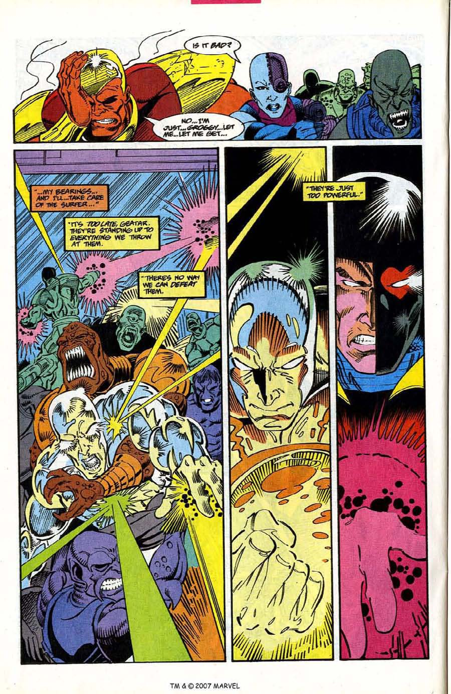 Read online Silver Surfer (1987) comic -  Issue #78 - 22