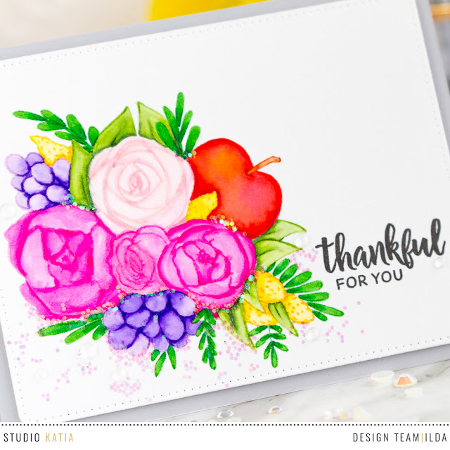 Studio Katia's & Simon Says Stamp STAMPtember Collaboration | Fresh Bunch by ilovedoingallthingscrafty.com