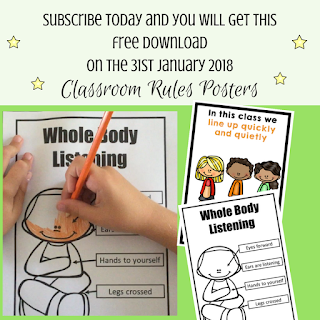 subscribe, class, rules, whole, body, listening, posters, classroom, rule