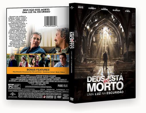 DEUS NÃO ESTA MORTO 3 DVD-R AUTORADO
