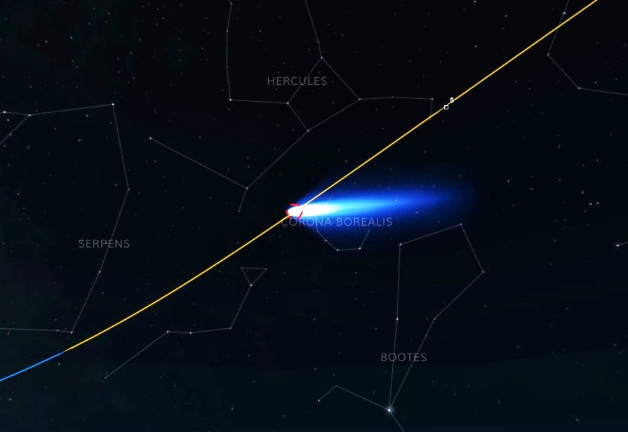 comet ison update - 895×616