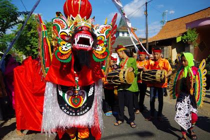 Tradisi Barong Ider Bumi dari Banyuwangi
