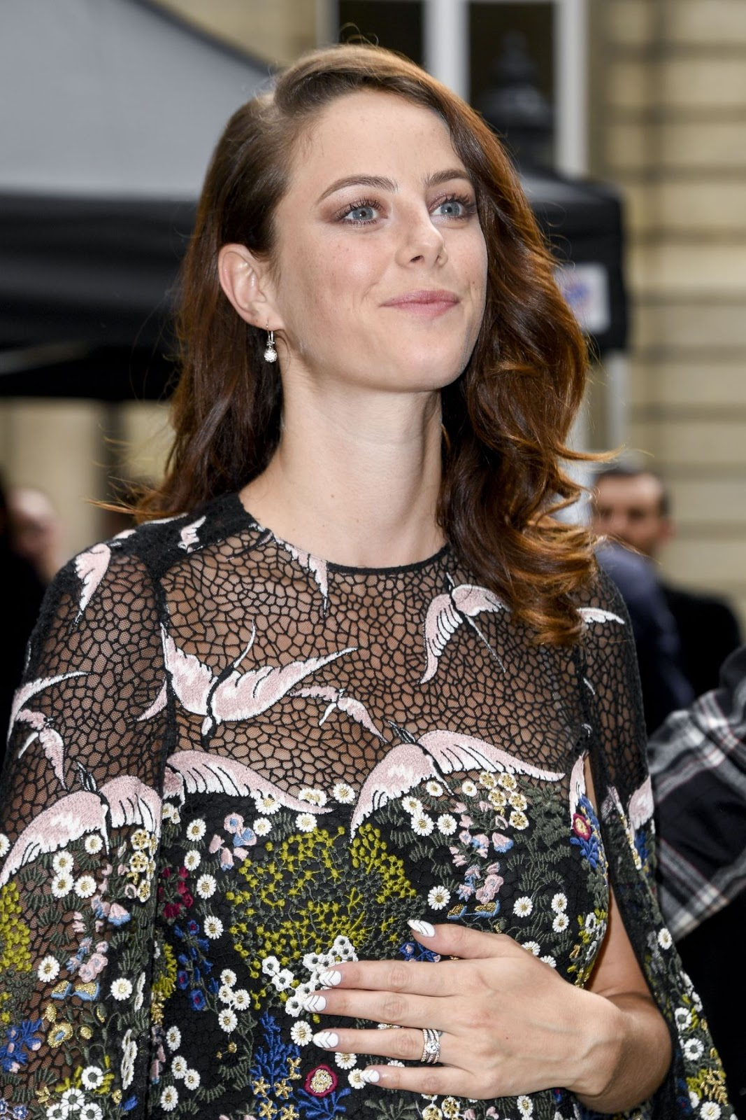 Kaya Scodelario at Valentino Menswear Spring Summer 2017 Paris Fashion Show
