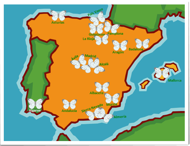 Bibliografía mariposas España y Portugal pdf