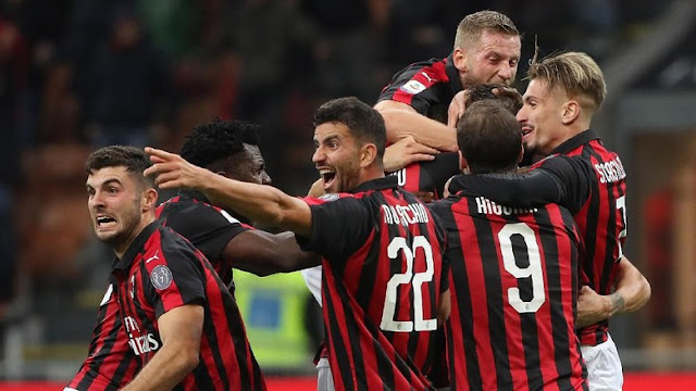 Hasil Milan vs Genoa: Gol di Injury Time Menangkan Rossoneri