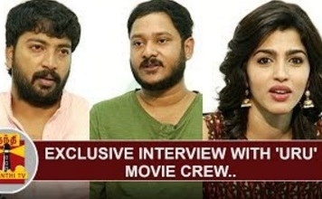 Exclusive Interview with 'URU' movie crew   Kalaiyarasan   Vicky Anand   Sai Dhanshika