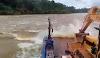 Vídeo mostra  balsa passando em cachoeiras no Rio Tapajós antes do naufrágio
