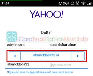 cara membuat alamat email yahoo indonesia