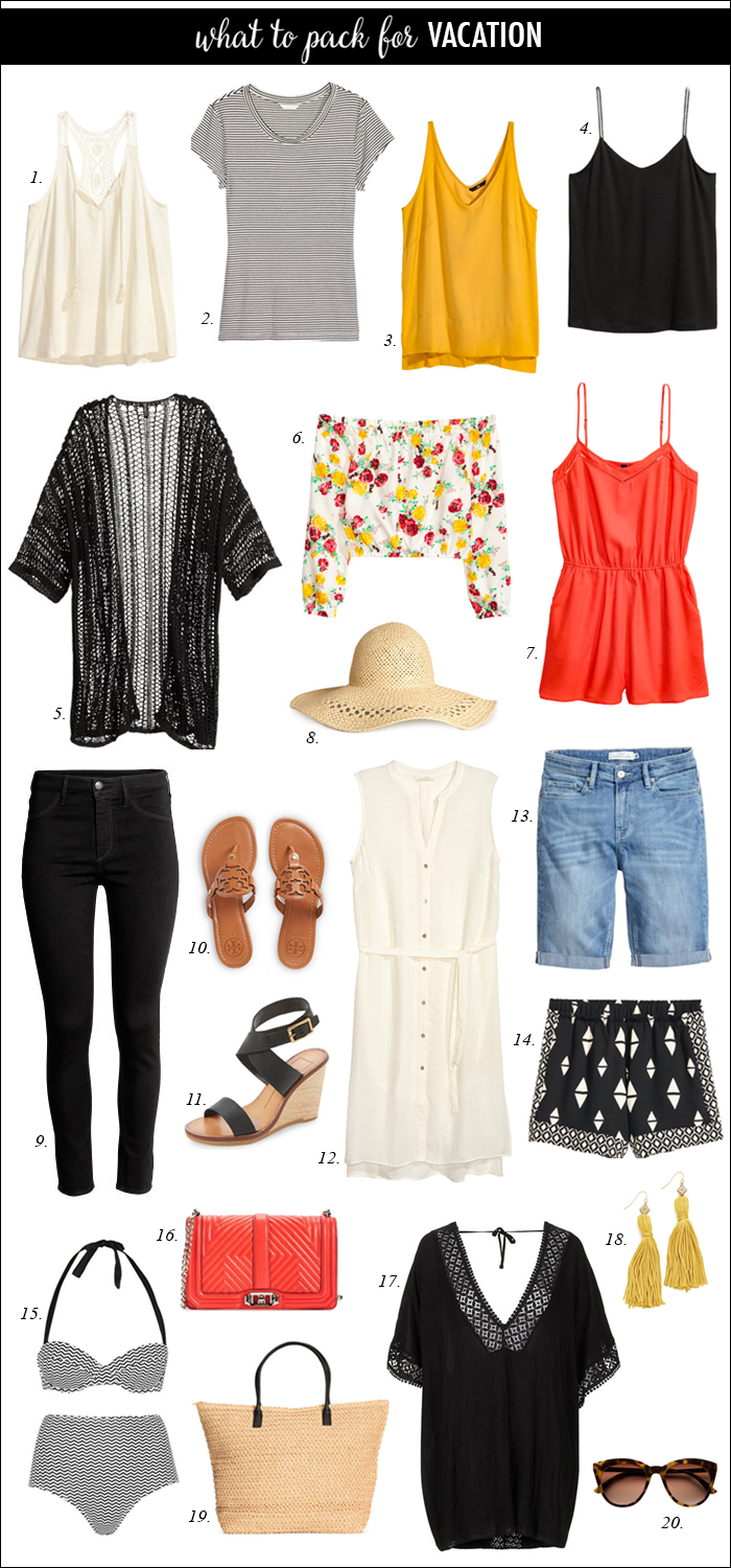 outfit ideas for vacation, summer outfits