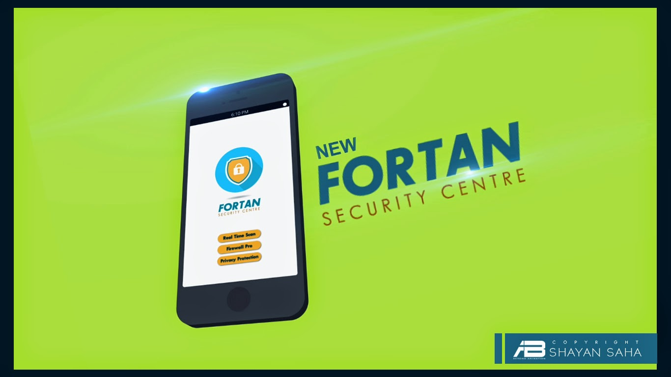Fortan Secutiry App Promo ~ Beyond Animation