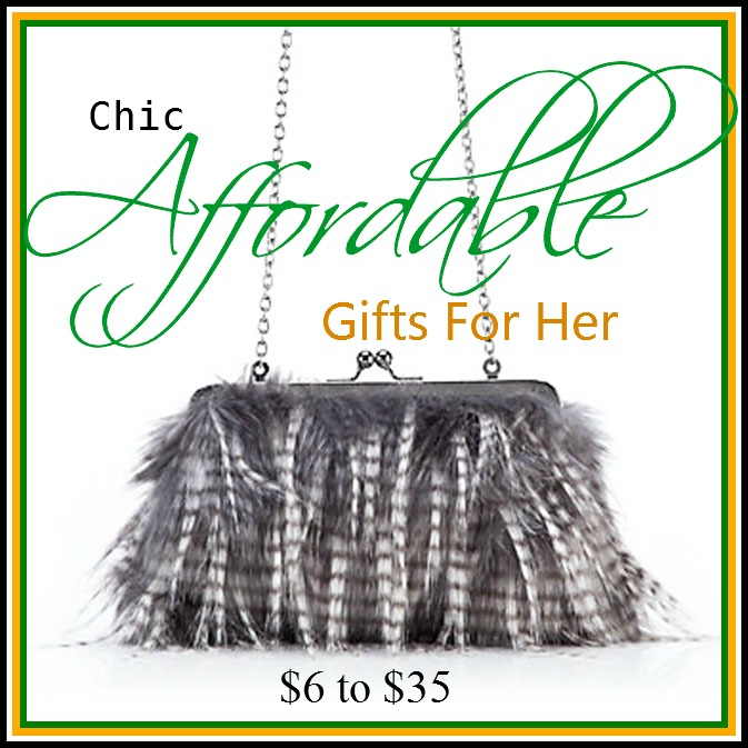 a stroll thru life chic affordable gifts for her 6 to 35