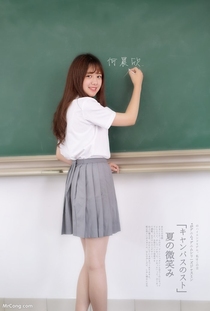 Image School-girls-by-Ronnie-MrCong.com-048 in post Những cô nàng nữ sinh xinh đẹp mê mẩn người xem chụp bởi Ronnie (96 ảnh)