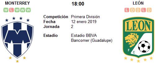Monterrey vs León en VIVO