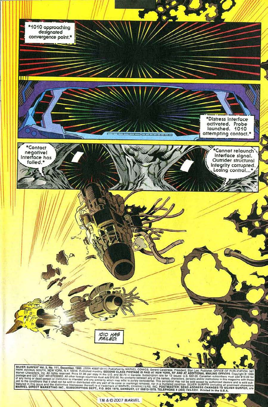 Read online Silver Surfer (1987) comic -  Issue #111 - 3