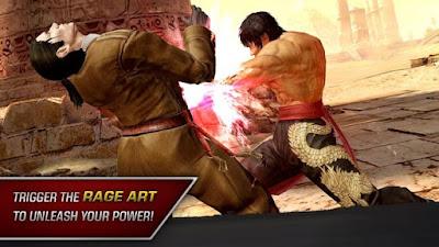 تحميل لعبة تيكن Tekken وتثبيت للاندرويد برابط مباشر احدث اصدار
