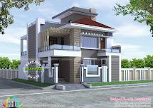 Decorative Contemporary Home Kerala Design