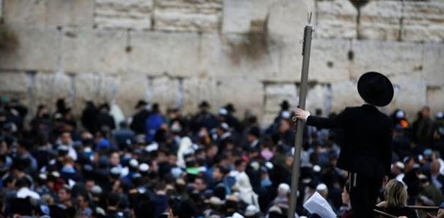 Kekeringan Parah, Menteri Pertanian Israel Pimpin Doa Di Tembok Barat