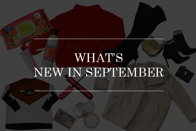 Japanese Fashion blogger,Mizhuo K,Whats NEW IN September,