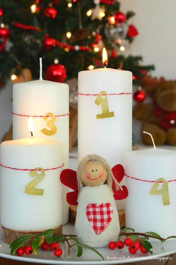 advent wreath desdeesteladodemimundo.blogspot.it