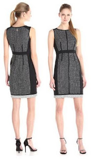 Ivanka Trump Women's Sleeveless Tweed Dress