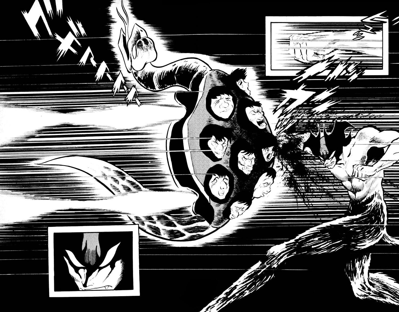 DevilMan chapter 13 trang 28